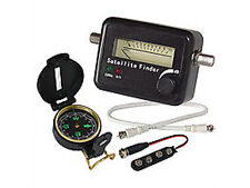 Satfinder Sat Finder Satellitenfinder Kompass Ton + LED