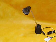 Rr-Leuchten Lampette Halógeno Negro Diseño Clásico Años 60 Luz Viaje Nuevo
