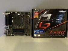 ASRock Z390i Phantom Gaming ITX/AC Motherboard - Boxed