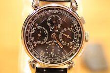 CHRONOSWISS KLASSIK AUTOMATIC CHRONOGRAPH 30M DATE CH 7403 BK MEN'S WATCH