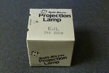 GE EJL Projection Lamp 24V 200W Bulb *Lot of 2