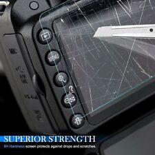 2PCS 9H Hard Tempered Glass Screen Protector Film Nikon D500 digital slr ca
