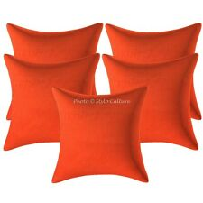 Indian Decorative Sofa Cushion Covers 16 x 16 Zippered Polydupion Pillow Cases