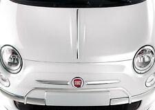 Modanatura cromata per cofano per Fiat 500