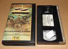 Attack Force Z vhs video Mel Gibson VCL - MEDIA