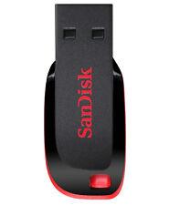 32GB SanDisk Cruzer Blade USB2.0 Flash Drive - Black, Red