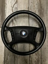 BMW OEM Leather multifunctional steering wheel E38 E39 E46 E53 with airbag