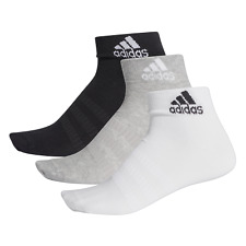 adidas Socks Ankle 3 Pack Performance Cotton Sports Mens Unisex 1st Class post