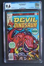 DEVIL DINOSAUR #1 1st MOON-BOY Marvel 1978 KIRBY Disney TV Cartoon CGC NM+ 9.6