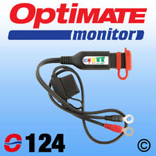 O-124 LED Battery Monitor / Eyelet Lead for OptiMate chargers  SAE connection