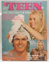 Vintage Teen Magazine June 1970 Beauty Fashion Dating Bikini Barbie FBI