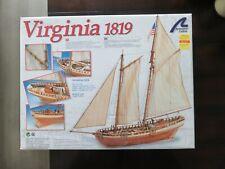 Artesania Latina US Virginia 1819 Schooner 1:41 Wooden Ship