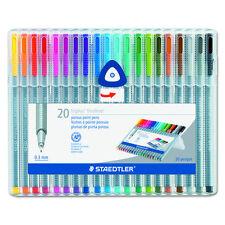 Case 20 Triplus Bout de Fibre stylos Staedtler 334sb20