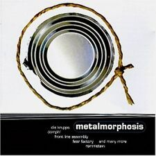 Metamorphosis (1996) Oomph, Psychopomps, Fear Factory, Rammstein, Klute.. [CD]