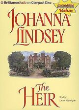 JOHANNA LINDSEY THE HEIR 3  abridged cd's audio book