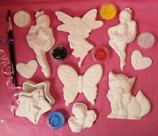 Edu Paint Plaster 🎨 Art girls plaster painting kit. As shown. Free postage