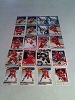 *****Gerald Gallant*****  Lot of 100+ cards.....31 DIFFERENT / Hockey