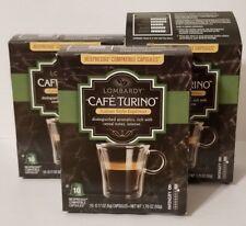 Lot of 30 Cafe Turino Lombardy Italian Style Espresso Nespresso Best By 11/19/18