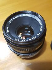 Canon fd lens 50mm f/1,8 manual focus
