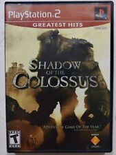 Shadow of the Colossus Greatest Hits (Sony PlayStation 2, 2006) videogame tested