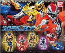 BANDAI Super Sentai Kishiryu Sentai Ryusoulger 02 Mini Figure Gashapon x5