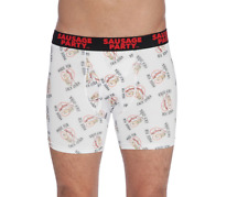 INTIMO Men's Sausage Party, Made for Each Other Boxer Brief SIZE M  Underwear