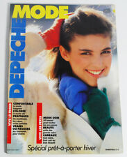 November 1980 Depeche Mode Fashion Magazine Pret-A-Porter Hiver