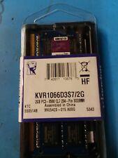 Kingston 2GB PC3 204 Pin SODIMM Laptop Memory