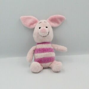 Doudou Porcinet rayé rose DISNEY NICOTOY - Cochon