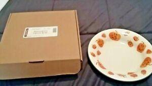 Longaberger Halloween Treats Bowl Pumpkins New in Box