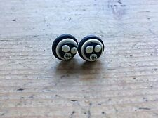 earrings Mighty Boosh Handmade Studs Monkey Skulls Emo Goth