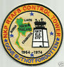 USAF BASE PATCH, NKP RTAFB THAILAND CONTROL TOWER, GONE BUT NOT FORGOTTEN     Y