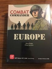 COMBAT COMMANDER EUROPE - SHRINK WRAPPED - GMT GAMES!!