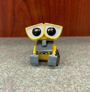 "Disney Pixar WALL-E Mini 1.5"" PVC Figure - RARE - yellow robot tiny"