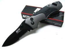 Couteau Smith&Wesson Tactical Rescue P&M Acier 9Cr17 Brise Vitres Cutter SWMP8BS
