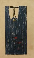 Serigraph of (J.Z)  ̈The beard full of fish ̈, original signed by the artist