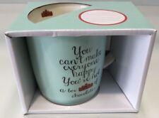 "GENERIC "" YOU CANT MAKE EVERYONE HAPPY ""  HANDLED COFFEE CUP MUG 370ML"