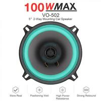 1pcs 5 Inch 100W Car HiFi Coaxial Speaker Door Audio Music Stereo Loudspeaker