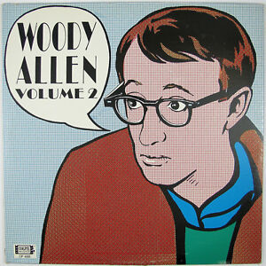 WOODY ALLEN Woody Allen Volume 2. LP 1965 STAND UP COMEDY NM- NM-