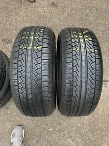 235 55 R 17 99H M+S Pirelli Scorpion Str * 2x Tyres 2355517 Tread(7mm)