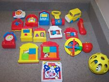 18 - 1996 McDonalds FISHER PRICE Happy Meal Toys