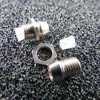 LED Schrauben Fassung Screw für 3 mm LEDs CHROM Halter LEDSchraube Fassungen