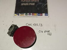 Honda civic type r s fuel cap lid cover petrol ep3 ep2 01-06 3/5 door 2004  red