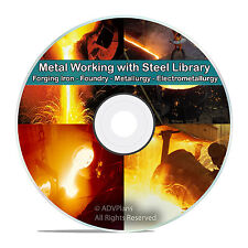 200+ Books on Metal Work, Metal Forging, Form Foundry Metallurgy, Alloys DVD V67
