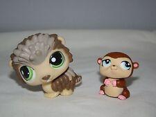 Littlest Pet Shop LPS 2008-09 Hedgehog Porcupine #1321 Baby Mole Hamster #1322