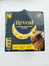 New listing Reveal Chicken Selection In Broth 12 Pack Wet Cat Food 100% Natural Grain Free