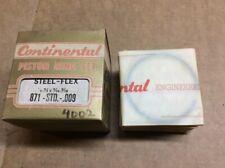 New Continental Steel-Flex Engine Piston Ring Set 871-STD-009