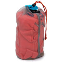 Small Ultralight Mesh Stuff Sack Drawstring Storage Bag Pouch Camping Outdoor