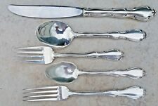 ESTATE STERLING SILVER TOWLE FONTANA 5-PIECE PLACE SIZE SETTING 1957 FREE SHIP