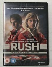 Rush DVD Chris Hemsworth Daniel Bruhl ***NEW & SEALED*** 2 Disc version